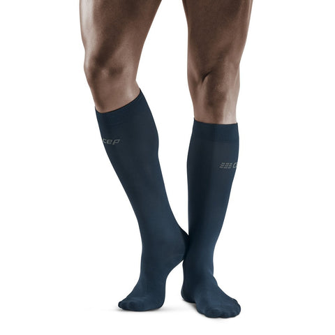 CEP Men's Commuter Compression Socks Dark Blue