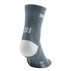 CEP Men's Ultralight Short Socks Grey