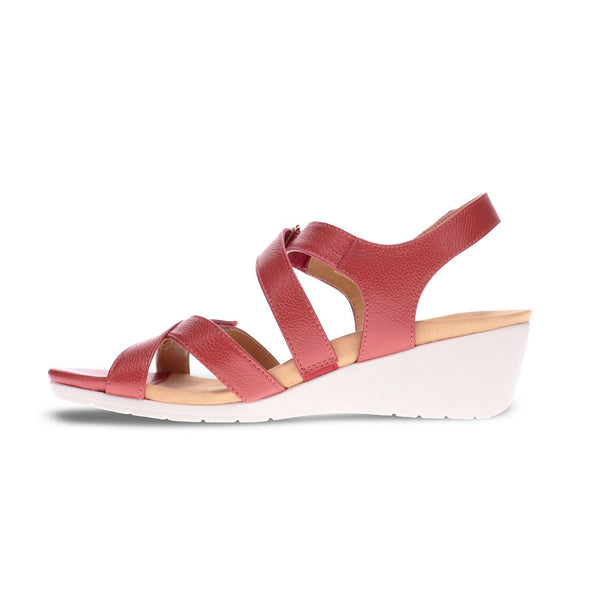 Revere Women's Casablanca Wedge Back Strap Sandals
