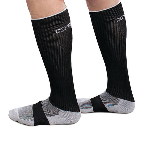 Core-Sport by Therafirm Unisex Athletic Performance Sock - 20-30 mmHg