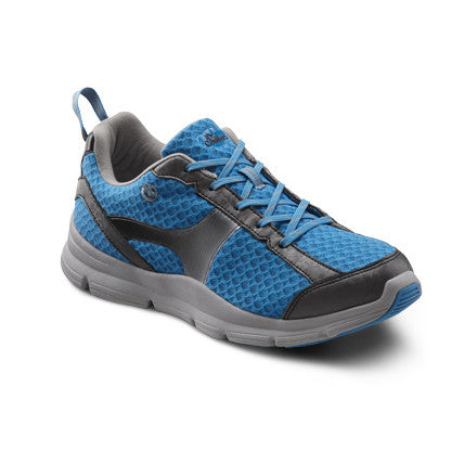 ddc0c4bfd7f8 Dr. Comfort Women s Meghan Athletic Shoes - Blue