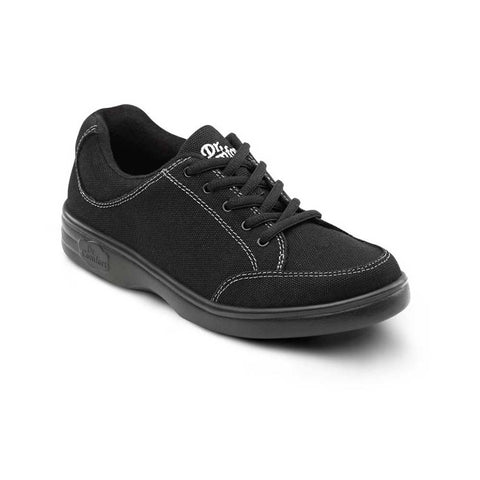 Dr. Comfort Women's Riley Casual Comfort Shoes Black
