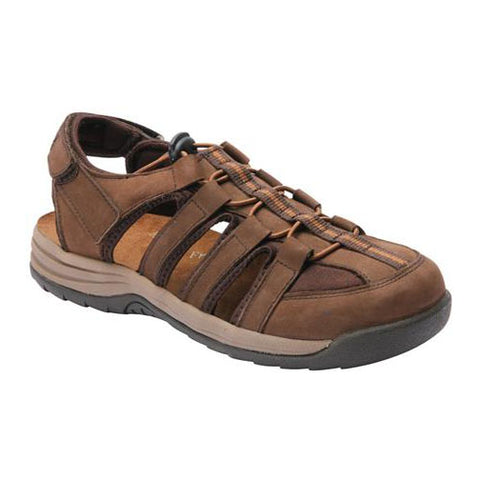 Drew Women's Element Sandals - Brown Nubuck