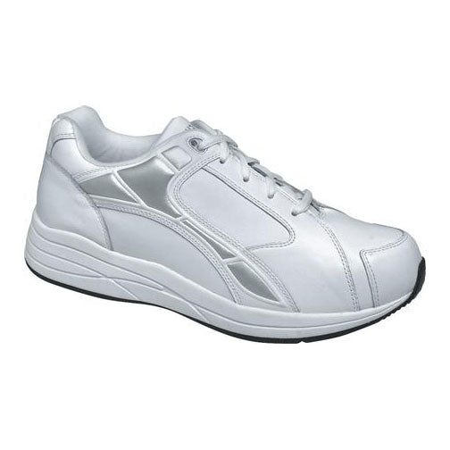 Drew Men's Force Athletic Shoes - White Leather