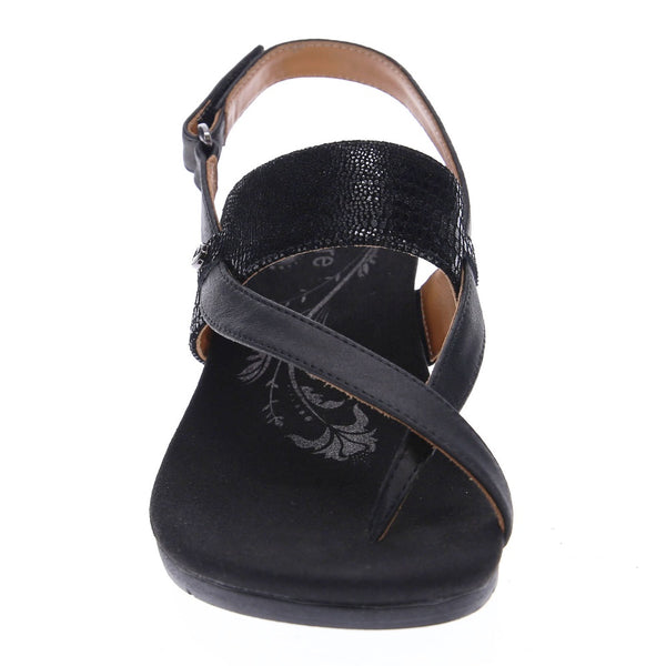 Revere Women's Honolulu Backstrap Wedge Sandals