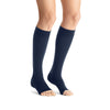 Jobst Opaque Open Toe Maternity Knee Highs - 20-30 mmHg Navy