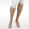 Juzo Assist 3611 Closed Toe Knee Highs  w/Silicone Band - 20-30 mmHg Beige