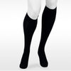 Juzo Assist 3611 Closed Toe Knee Highs  w/Silicone Band - 20-30 mmHg Black