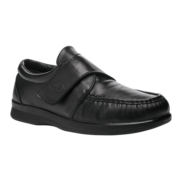 Propet Men's Pucker Moc Shoes Black