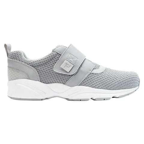 Propet Men's Stability X Strap Shoes Light Grey