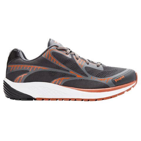 Propet Men's Propet One LT Shoes Dark Grey/Burnt Orange