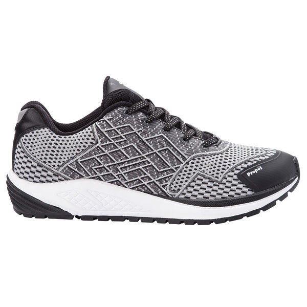 Propet Men's Propet One Shoes Black/Silver