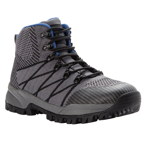 Propet Men's Traverse Boots Grey/Black