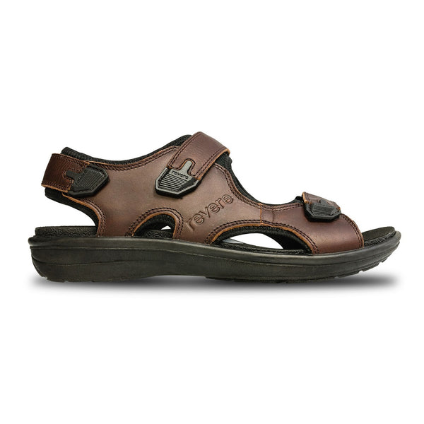 Revere Men's Montana II Backstrap Sandals