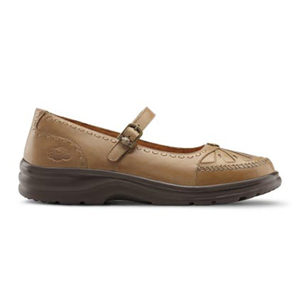 Dr. Comfort Women's Paradise Shoes - Saddle Tan