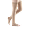 Medi Plus Open Toe Thigh Highs - 40-50 mmHg