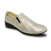 Revere Women's Jordan Slip-On Loafer Gold Wash