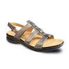 Revere Women's Toledo Backstrap Sandals Gun Metal