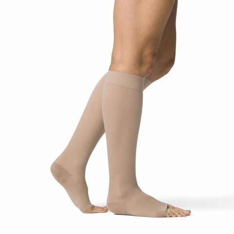 Sigvaris 971 Access Open Toe Knee Highs - 15-20 mmHg
