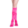 Sigvaris Compression Socks Pink Argyle Microfiber Women