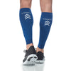 Sigvaris 412V Athletic Performance Leg Sleeves - 20-30 mmHg - Blue