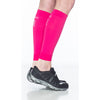 Sigvaris 412V Athletic Performance Leg Sleeves - 20-30 mmHg - Pink