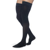 Sigvaris Secure 553 Men's Closed Toe Thigh Highs w/Silicone Band - 30-40 mmHg Black