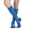 Sigvaris 412 Traverse Knee High Socks - 20-30 mmHg - Steel Blue