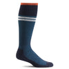 SockWell Men's Sportster Knee High Socks - 15-20 mmHg Navy