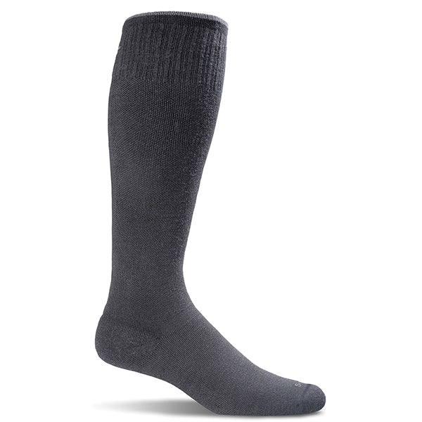 SockWell Men's Circulator Knee High Socks - 15-20 mmHg Black