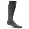 SockWell Men's Circulator Knee High Socks - 15-20 mmHg Charcoal