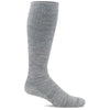 SockWell Women's Circulator Knee High Socks - 15-20 mmHg Ash