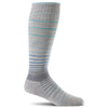 SockWell Women's Circulator Knee High Socks - 15-20 mmHg Grey