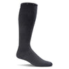 SockWell Women's On the Spot Knee High  Socks - 15-20 mmHg Black