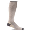 SockWell Men's Elevation Knee High Socks - 20-30 mmHg Khaki