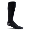 SockWell Men's Elevation Knee High Socks - 20-30 mmHg Black