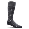 SockWell Women's Elevation Knee High Socks - 20-30 mmHg Black Multi