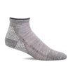 SockWell Women's Plantar Sport Quarter Socks Grey