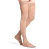 Sigvaris Essential 863 Men's Opaque Closed Toe Thigh Highs w/Grip Top - 30-40 mmHg
