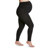 Sigvaris Well Being 170M Soft Silhouette Maternity Leggings - 15-20 mmHg Black