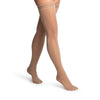 Sigvaris 981 Dynaven Sheer Closed Toe Thigh Highs w/Grip Top - 15-20 mmHg