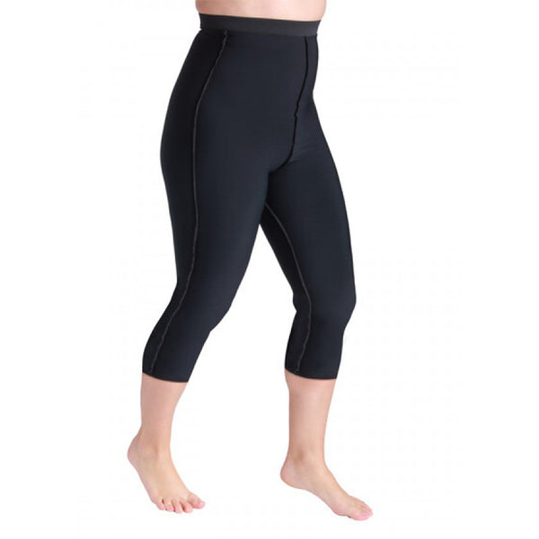 Sigvaris Lymphedema Compreshort Capri - 10-15 mmHg