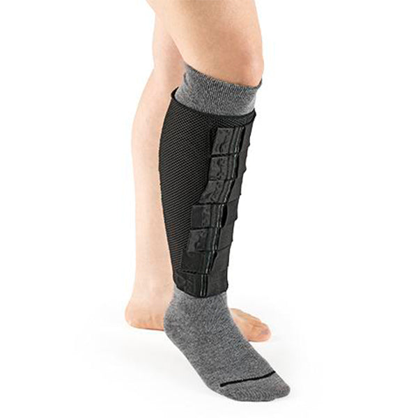 Sigvaris COOLFLEX No Foot Below Knee Inelastic Compression Garment Left