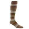 Sigvaris 183 Microfiber Shades Men's Closed toe Socks - 15-20 mmHg Khaki/Tan