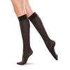 Therafirm Men's and Women's Closed Toe Knee Highs - 20-30 mmHg - Black