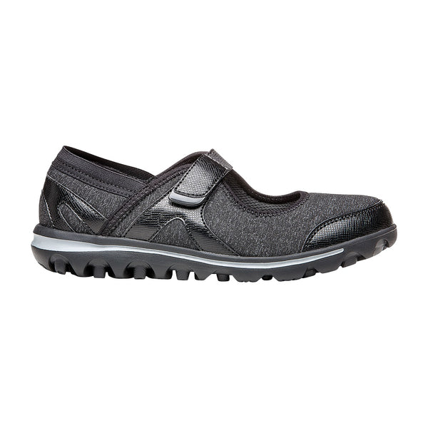 Propet Women's Onalee Shoes Grey/Black