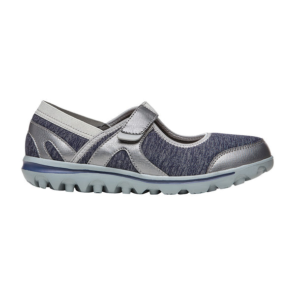 Propet Women's Onalee Shoes Blue/Silver