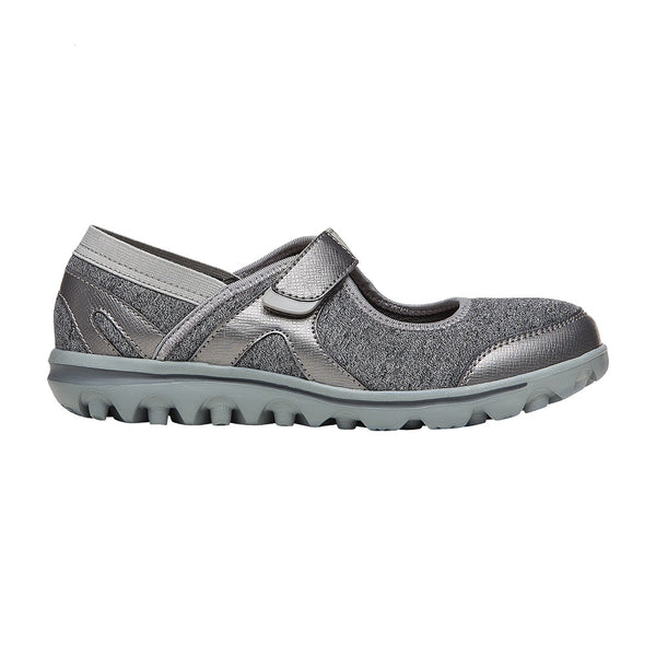 Propet Women's Onalee Shoes Grey/Silver