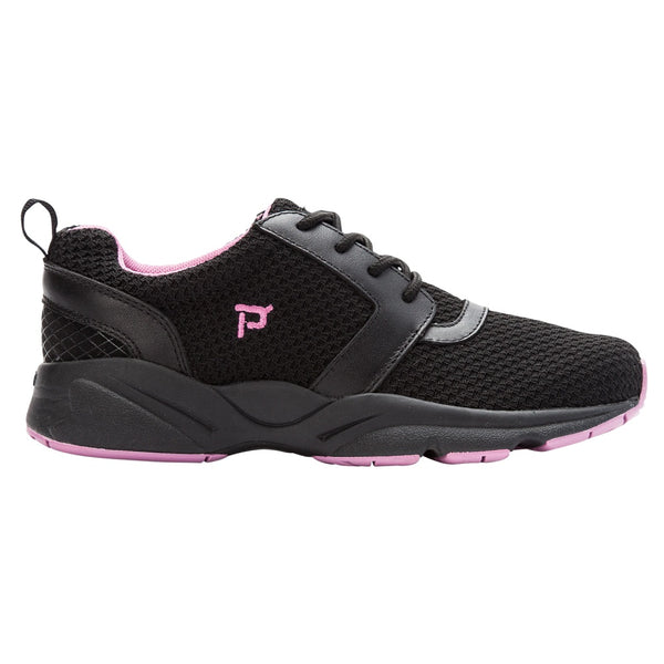 Propet Women's Stability X Sneakers Black/Berry