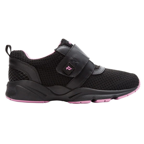 Propet Women's Stability X Strap Sneakers Black/Berry